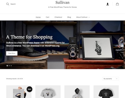 Sullivan Wordpress theme screenshot