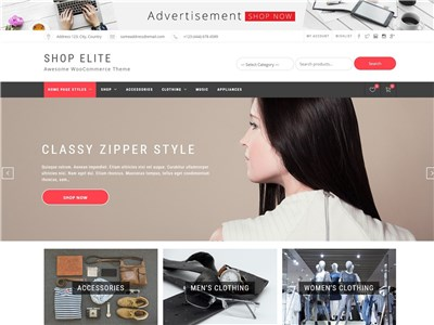 Shop-Elite Wordpress theme screenshot