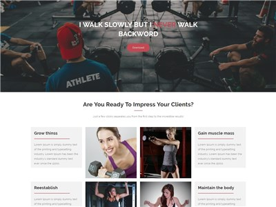 Fitness-Freak Wordpress theme screenshot