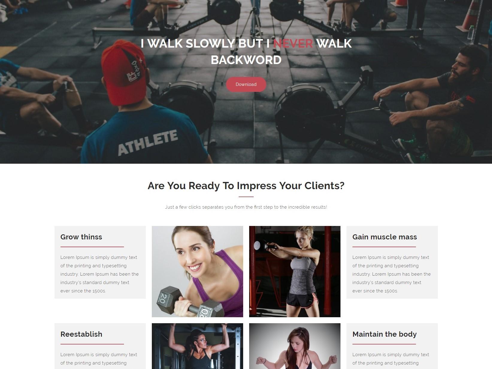 Fitness Freak - Free fitness Wordpress theme - Geethemes
