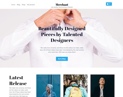 Merchant-Store Wordpress theme screenshot