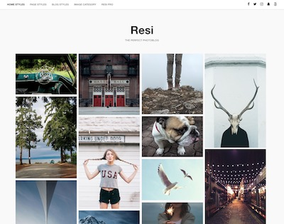 Resi Wordpress theme screenshot