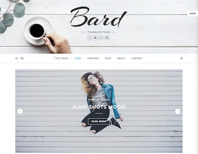 Bard Wordpress theme screenshot