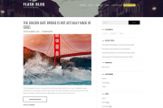 Flash Blog Wp Theme
