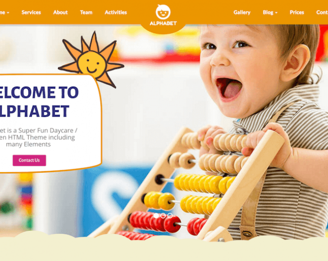 Top 10 premium sweet and cute WordPress themes for Kids