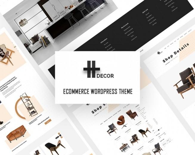 H Decor – Premium & creative furniture WooCommerce WordPress theme