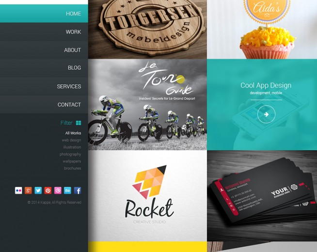 Top 10 Free Corporate and Business Web Templates PSD