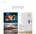 Hamilton -Free clean WordPress portfolio theme for creatives
