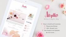 Angilla – Free premium WordPress blogging theme