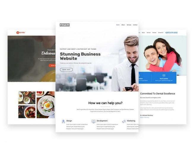 Astra – Free multi-purpose, Lightning Fast & Easily Customizable WordPress theme
