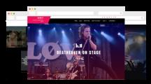 SUNGIT LITE – Free clean, responsive music WordPress theme