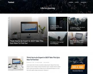 Fastest – Free lightweight and fastest WordPress theme