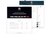 Hotelica – a free hotel/resort based WordPress theme