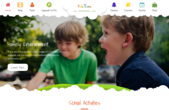 Kids Education – Free kindergarten and preschool WordPress theme