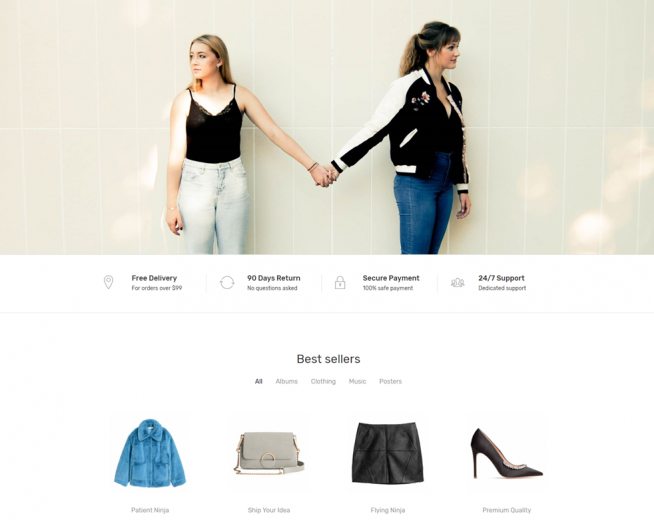 Leto – Free WooCommerce WordPress theme