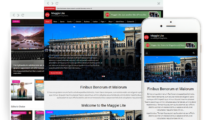 Maggie Lite – Free clean and modern magazine WordPress theme