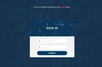 Top Free HTML5 And CSS3 Login Forms for Webmasters