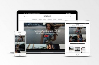 Neville – Free clean news/magazine WordPress theme
