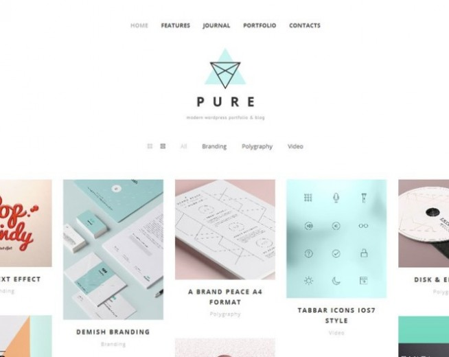 70+ Free WordPress Portfolio Themes 2017