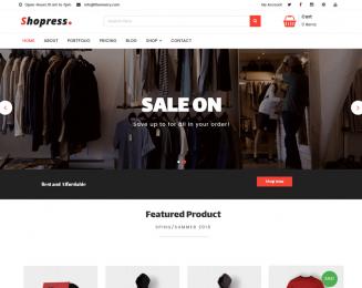 Shopress – Free multipurpose WooCommerce WordPress Theme