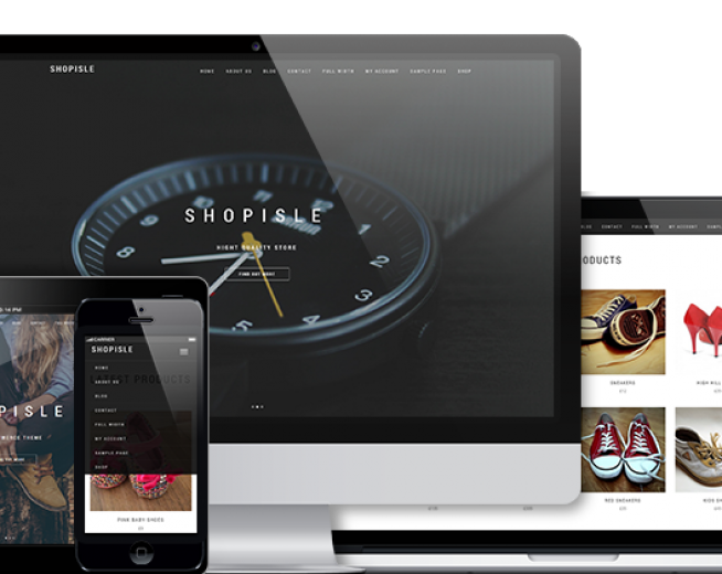 Shopisle Free WordPress Ecommerce Theme