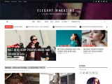 Elegant Magazine – Free magazine WordPress theme