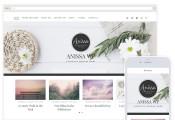Anissa – a beautiful and Woocommerce-ready WordPress blogging theme