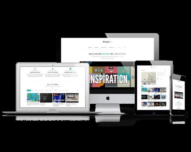 BeAgency Lite – Free Portfolio WordPress theme for Agencies