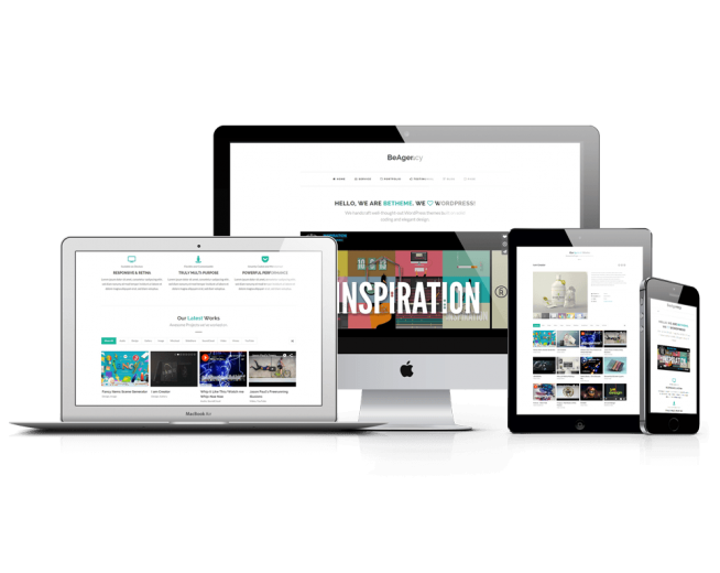 BeAgency Lite – Free Portfolio WordPress theme for Agencies
