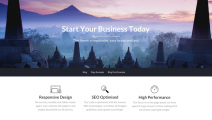 BusinessBuilder – Free Business Landing Page & blog WordPress theme