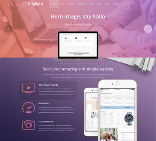 Daylight Multipurpose WP theme