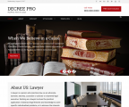Decree – Free Lawyer WordPress theme for law firms and attorneys