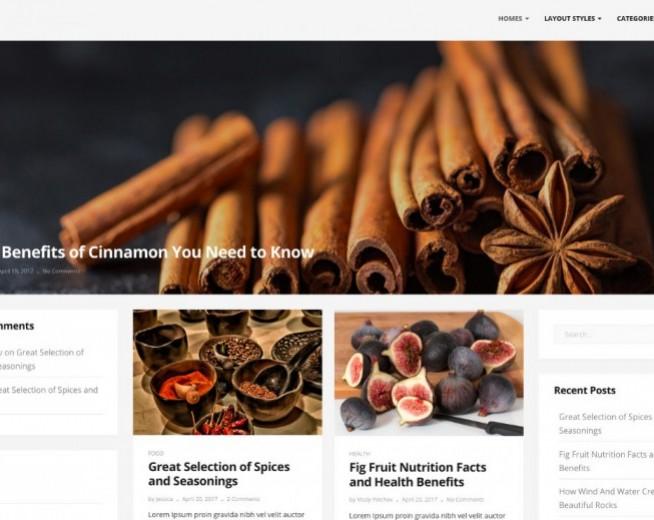 Donna – Free minimalist multi columns WordPress theme with big Slider