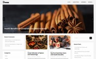 Donna – Free minimalist multi columns WordPress theme with big Slider
