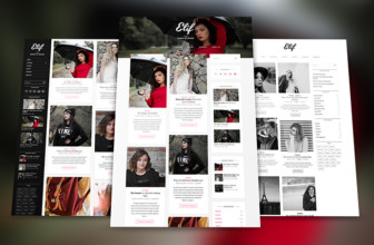 Elif lite – Free professional Fashion Blog & Portfolio WordPress Theme