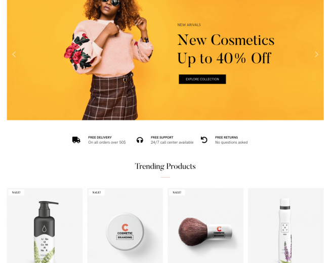 Ellie – Free Ecommerce WordPress theme