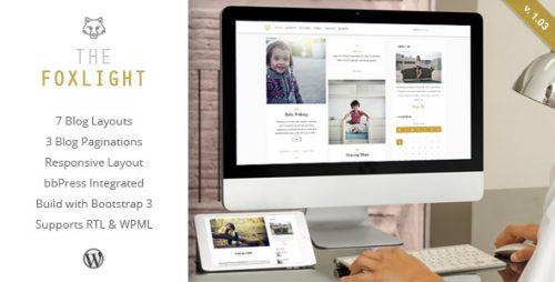 Foxlight - WordPress Personal Blog Theme