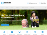 Education Pack – Free premium university WordPress theme