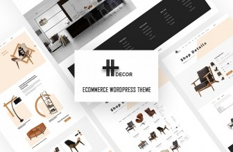 H Decor – Premium & creative furniture WooCommerce WordPress theme