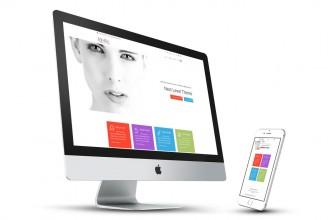 Idyllic – Free clean and clear Business WordPress Theme