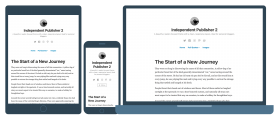 Independent Publisher 2 – minimalist and personal Wp theme for writers and bloggers