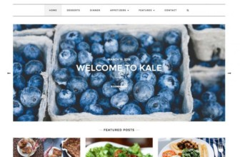 Best Free Responsive Food & Restaurant wordpress themes