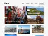 Karta – Free WordPress travel theme