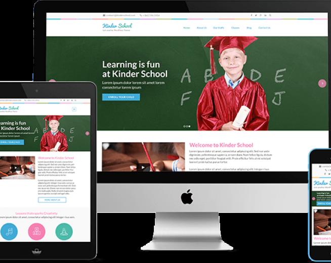 Preschool and Kindergarten – a Free educational WordPress theme