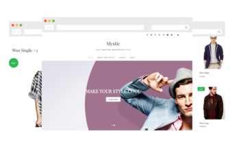 MYSTIC LITE – Free elegant E-commerce WordPress theme