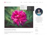 PHLOX – Free Elegant and Stylish WordPress theme