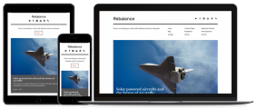 Rebalance – Free minimalist WordPress theme for bloggers, Photographers