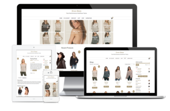 ENVO STORE – Free and fast loading E-commerce WordPress theme