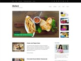 Maillard – free food blog WordPress theme with SEO Schema Markup