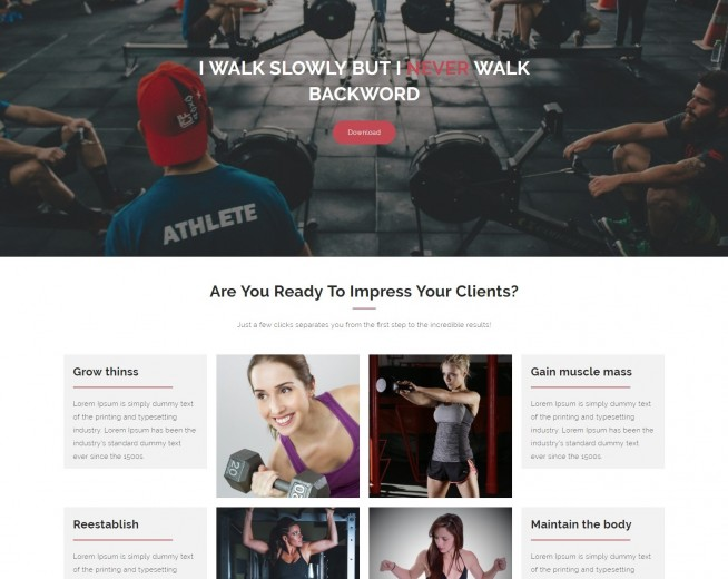 Fitness Freak – Free fitness WordPress theme